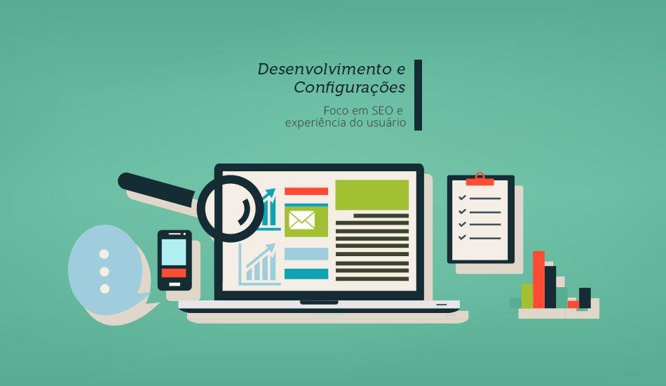 Desenvolvimentos e configurações Marketing Digital