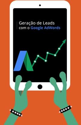 E-book geração de leads google adwords- Material Marketing Digital