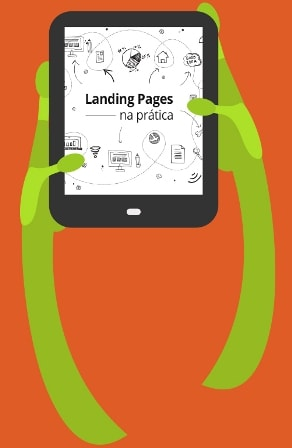 E-book landing pages - Material Marketing Digital