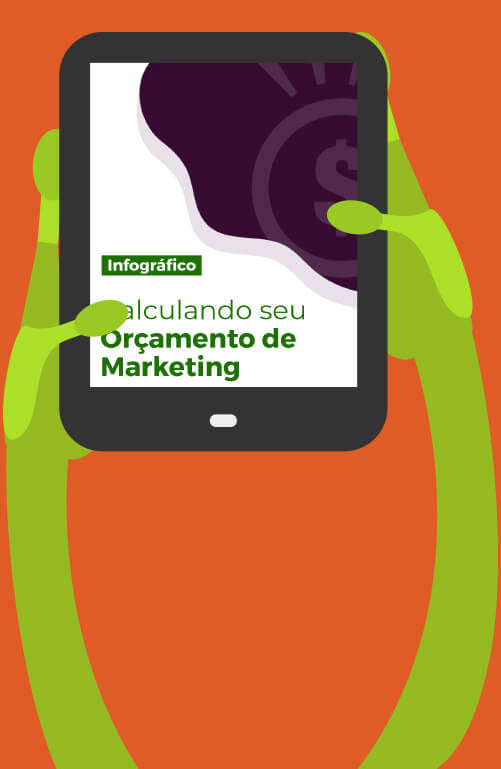 Infográfico - Calculando seu Orçamento de Marketing - Material Marketing Digital